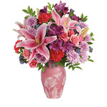 Bouquet rose e lilium